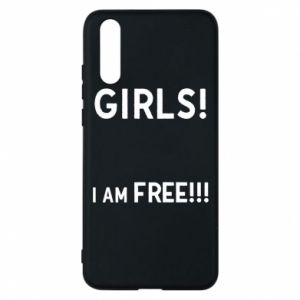 Phone case for Huawei P20 Girls I am free