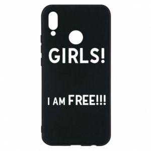 Phone case for Huawei P20 Lite Girls I am free