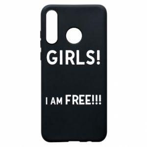 Phone case for Huawei P30 Lite Girls I am free