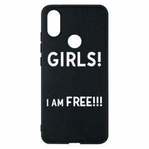 Phone case for Xiaomi Mi A2 Girls I am free