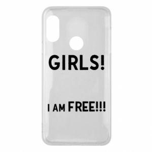 Phone case for Mi A2 Lite Girls I am free