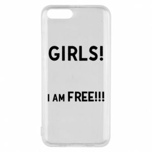 Phone case for Xiaomi Mi6 Girls I am free