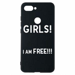 Phone case for Xiaomi Mi8 Lite Girls I am free