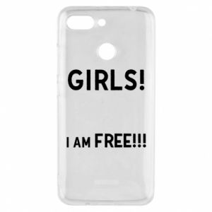 Phone case for Xiaomi Redmi 6 Girls I am free