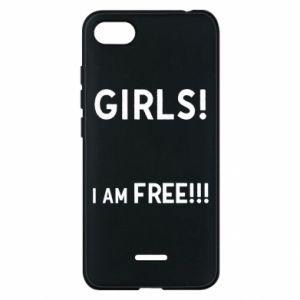 Phone case for Xiaomi Redmi 6A Girls I am free