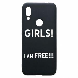 Phone case for Xiaomi Redmi 7 Girls I am free