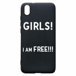 Phone case for Xiaomi Redmi 7A Girls I am free