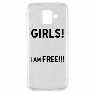 Phone case for Samsung A6 2018 Girls I am free