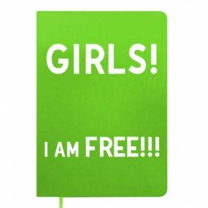 Notepad Girls I am free