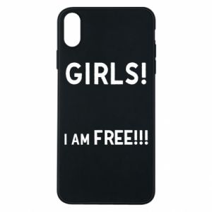 Phone case for iPhone Xs Max Girls I am free