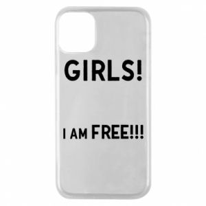 Phone case for iPhone 11 Pro Girls I am free