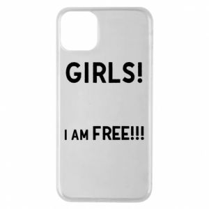 Phone case for iPhone 11 Pro Max Girls I am free