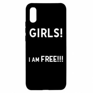 Etui na Xiaomi Redmi 9a Girls I am free