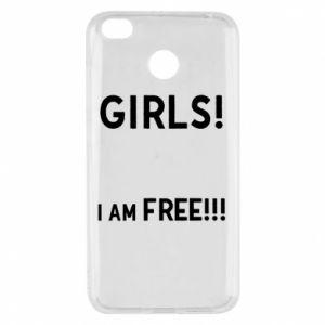 Etui na Xiaomi Redmi 4X Girls I am free