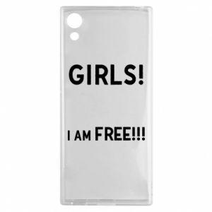 Etui na Sony Xperia XA1 Girls I am free