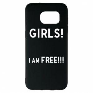 Etui na Samsung S7 EDGE Girls I am free