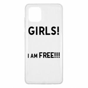 Etui na Samsung Note 10 Lite Girls I am free