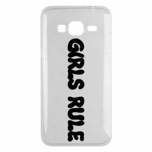 Etui na Samsung J3 2016 Girls rule