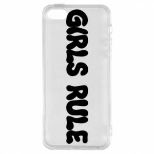 Etui na iPhone 5/5S/SE Girls rule