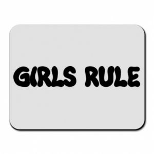 Mouse pad Girls rule
