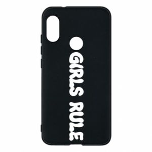 Etui na Mi A2 Lite Girls rule
