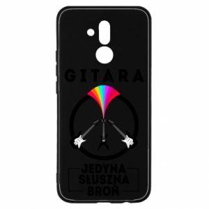 Etui na Huawei Mate 20 Lite Gitara jedyna słuszna broń