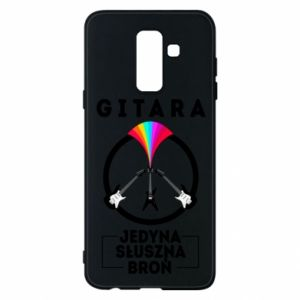 Phone case for Samsung A6+ 2018 The guitar is the only proper weapon