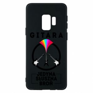 Phone case for Samsung S9 The guitar is the only proper weapon