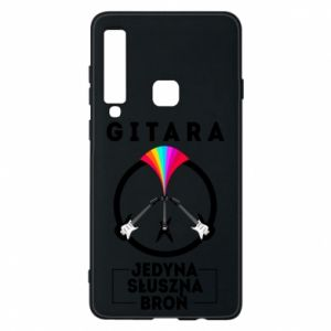 Phone case for Samsung A9 2018 The guitar is the only proper weapon