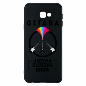 Phone case for Samsung J4 Plus 2018 The guitar is the only proper weapon