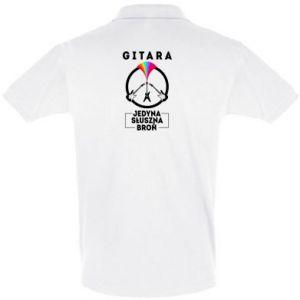 Koszulka Polo Gitara jedyna słuszna broń