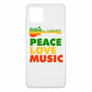 Samsung Note 10 Lite Case Guitar forest