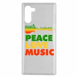 Samsung Note 10 Case Guitar forest