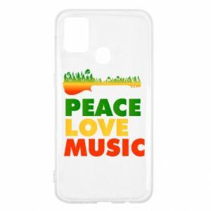 Samsung M31 Case Guitar forest