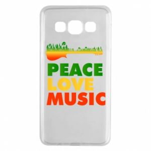 Samsung A3 2015 Case Guitar forest