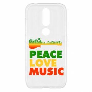 Nokia 4.2 Case Guitar forest