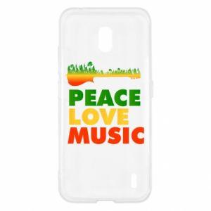 Nokia 2.2 Case Guitar forest