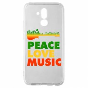 Huawei Mate 20Lite Case Guitar forest