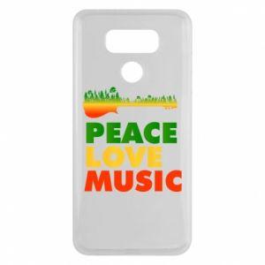 LG G6 Case Guitar forest