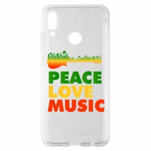 Huawei P Smart 2019 Case Guitar forest