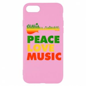 iPhone SE 2020 Case Guitar forest