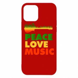 Etui na iPhone 12/12 Pro Gitara las