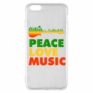 Etui na iPhone 6 Plus/6S Plus Gitara las