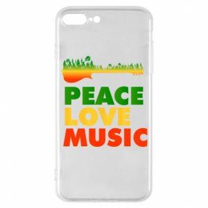 Etui na iPhone 7 Plus Gitara las