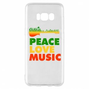 Etui na Samsung S8 Gitara las