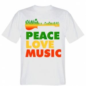 T-shirt Guitar forest