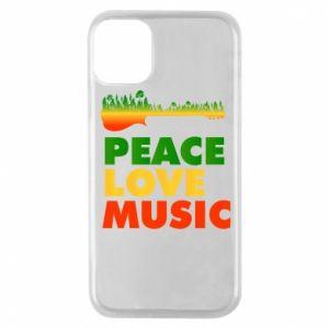 Etui na iPhone 11 Pro Gitara las