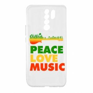 Xiaomi Redmi 9 Case Guitar forest