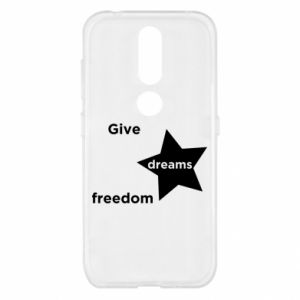 Etui na Nokia 4.2 Give dreams freedom