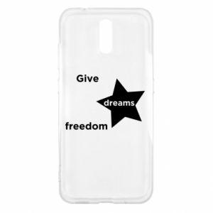 Etui na Nokia 2.3 Give dreams freedom